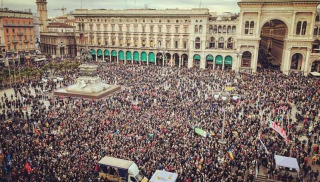 milan protests