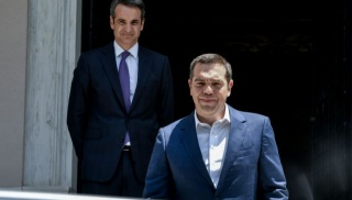 mitsotakis tsipras