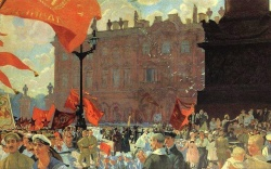 Kustodiev Congress of Comintern